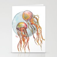 Jumpin Jellyfish Stationery Cards