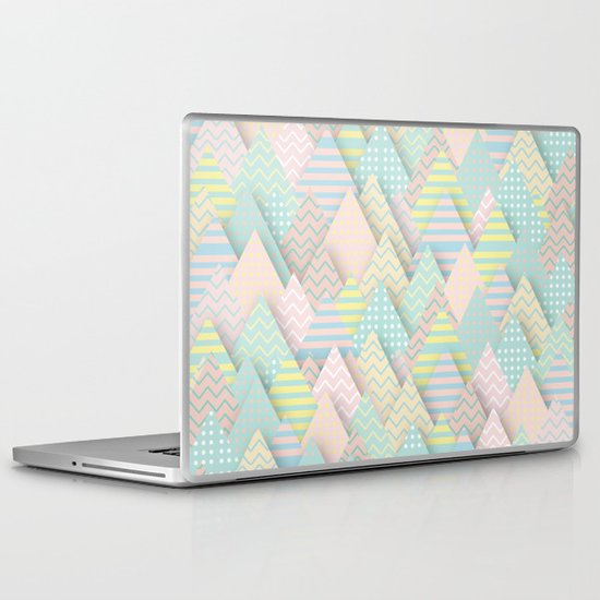 Forest Pastel Laptop & iPad Skin