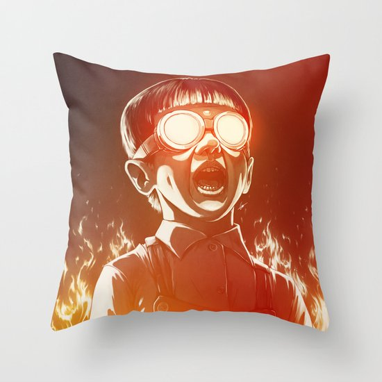 FIREEE! Throw Pillow