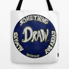 DRAW | Motivational Mandala Tote Bag