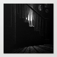 Drawlloween 2015: Ghost Canvas Print