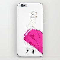 Pink Skirts iPhone & iPod Skin