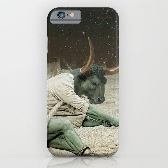 locking horns under Taurus iPhone & iPod Case