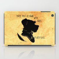 Those That Lie Down With Dogs, Get Up with Fleas iPad Case