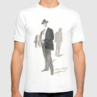 A Dapper Man Mens Fitted Tee White SMALL