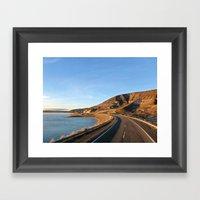 Road To Bariloche Framed Art Print