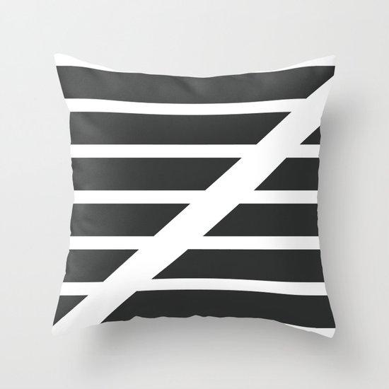 """Redzone """"Z"""" Pillow Throw Pillow"""