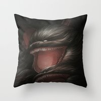 BallWars IV. Throw Pillow