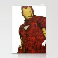 Iron Man Stationery Cards