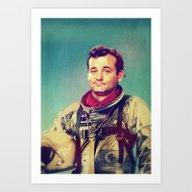 Space Murray Art Print