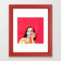 Multifaceted Framed Art Print