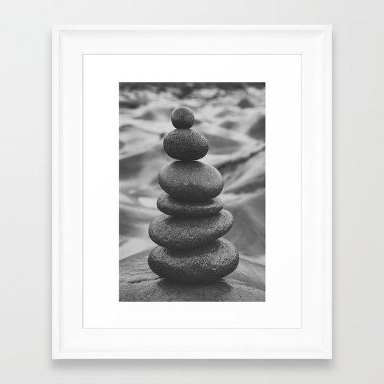 Steady Now Framed Art Print