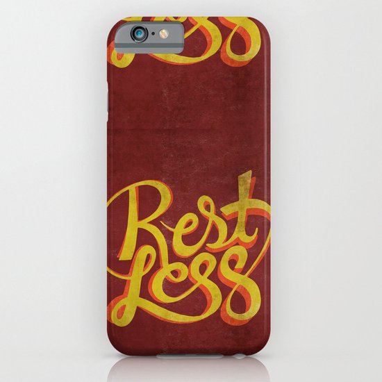 RestLess. iPhone & iPod Case
