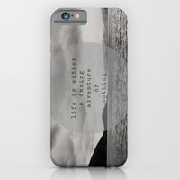 life is either a daring adventure ... or nothing iPhone 6 Slim Case