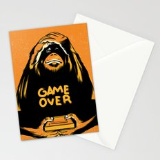 Orange Quick Foot Stationery Cards