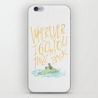 Wherever I Go iPhone & iPod Skin