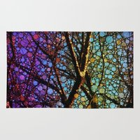Colourful Tree Rug
