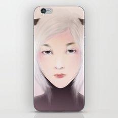 women_deer iPhone & iPod Skin