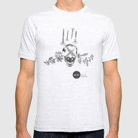 Burn After Reading | Col… Mens Fitted Tee Ash Grey SMALL