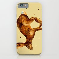 iPhone & iPod Case featuring Hare, hare cushion, rabbit pillow by eastwitching