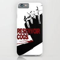 iPhone & iPod Case featuring Reservoir Cogs by Talkingwatermelon