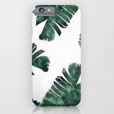 Banana Leaf Watercolor P… iPhone 6 Slim Case
