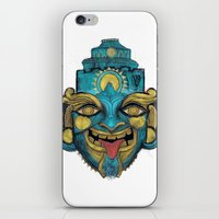 Morpho Mask iPhone & iPod Skin