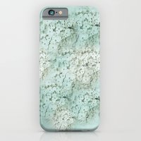 iPhone & iPod Case featuring SHADY HYDRANGEAS by mel @ my postcard heaven