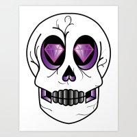 Diemun' Eyes Art Print