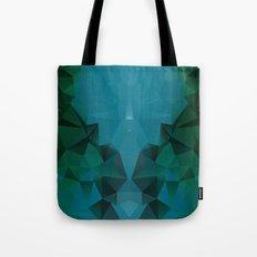 PEACOCK POLYGON Tote Bag