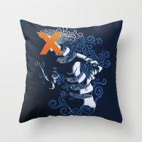 My Hideous X Throw Pillow