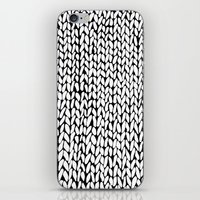 Hand Knitted Loops iPhone & iPod Skin