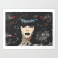 Weald Portrait Art Print