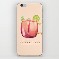 Moscow Mule iPhone & iPod Skin