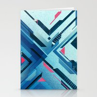Geometric - Collage Love Stationery Cards