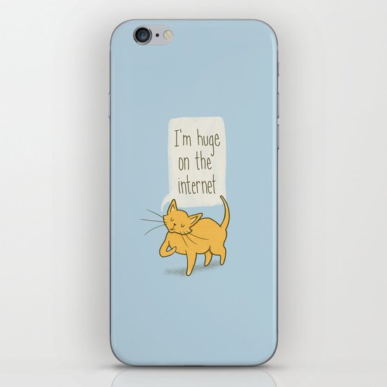 Huge on the Internet iPhone & iPod Skin