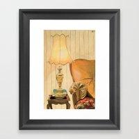Ugly Lamp 2 Framed Art Print