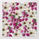 Spring Blossoms Abstract  Canvas Print