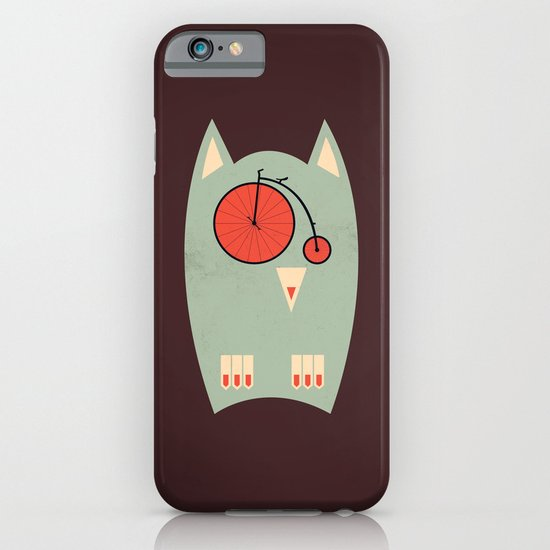 Vintage Bikeowl iPhone & iPod Case