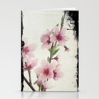 Pink Spring Stationery Cards