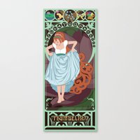 Thumbelina Nouveau - Thu… Canvas Print