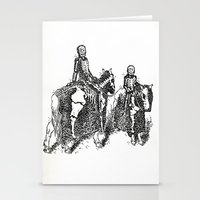 X-Ray Horsemen Stationery Cards