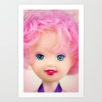 Pink & Cheery Art Print