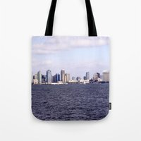 Good Morning San Diego  Tote Bag