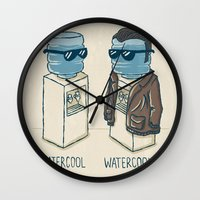 Watercool Wall Clock