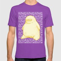 Golden Boy Mens Fitted Tee Ultraviolet SMALL