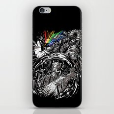 Dark Side of the Rainbow iPhone & iPod Skin