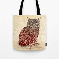 Most Ornate Owl Tote Bag