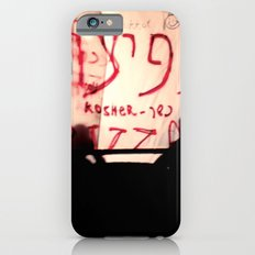 Booths iPhone 6 Slim Case