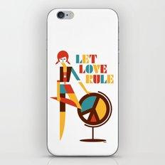 Hippie Chick iPhone & iPod Skin